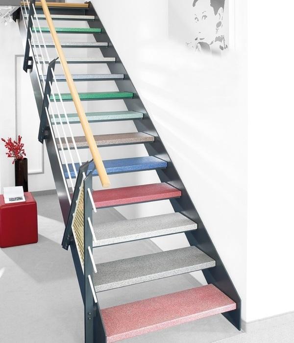 Fuchs-Treppen Multicolor-Stufen farbig bunt