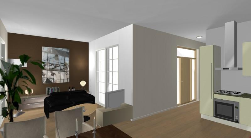 3D Wohnzimmerplanung Innenansicht