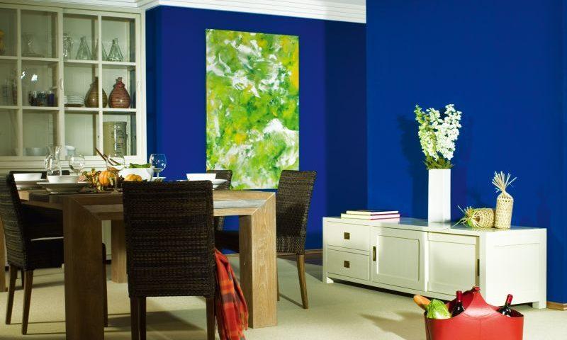 Wandgestaltung In Blau Schoner Wohnen Farbe Ocean Planungswelten