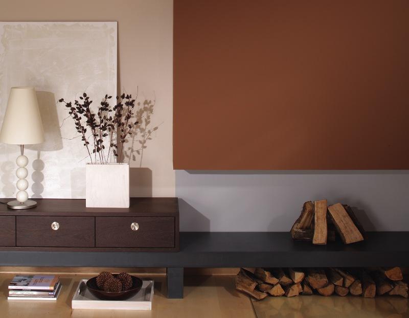 Wandgestaltung In Braun Schoner Wohnen Farbe Noisette Planungswelten