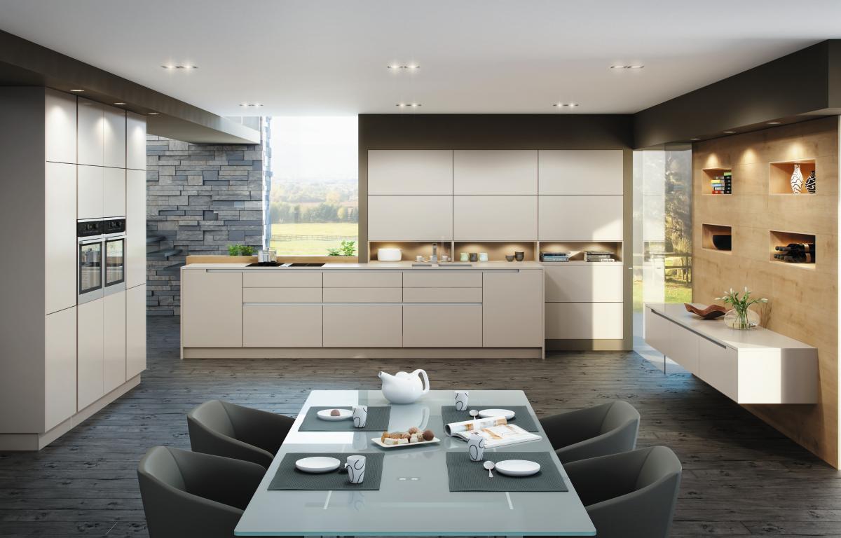 Moderne Küchen von ewe - Planungswelten
