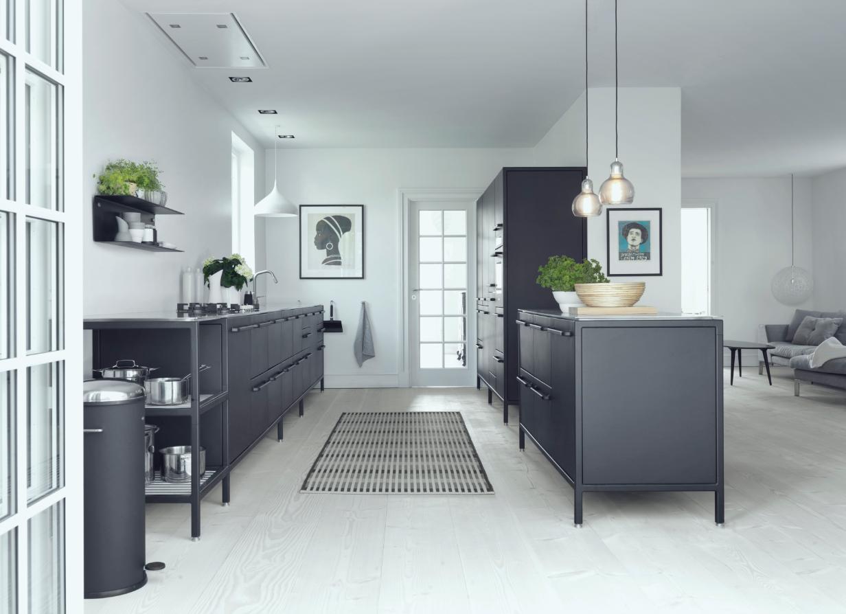 Ideen für eine schwarze Küche - Planungswelten