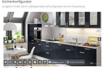 Konfigurator zur Küchenplanung