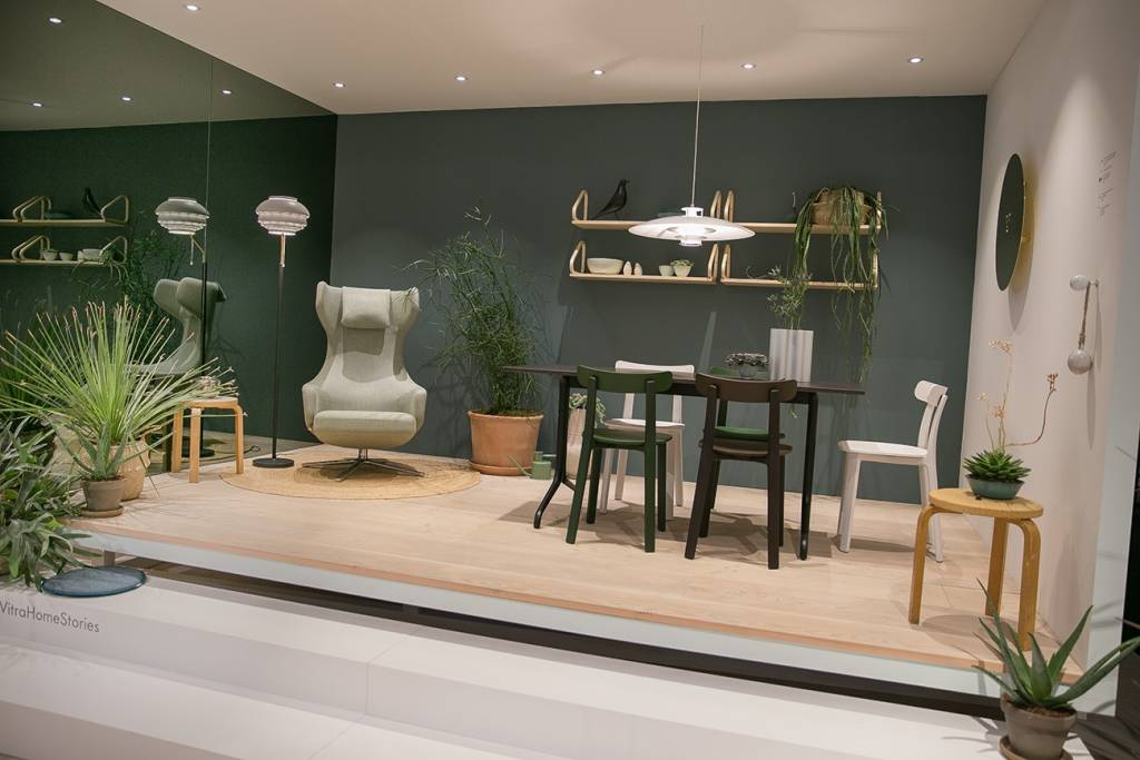 Bild einer Messe-Wohnwelt von vitra