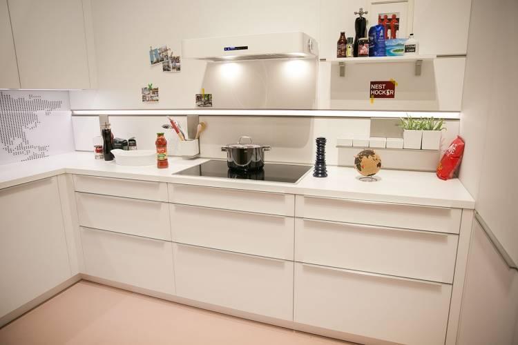 weiße Schüller Küche