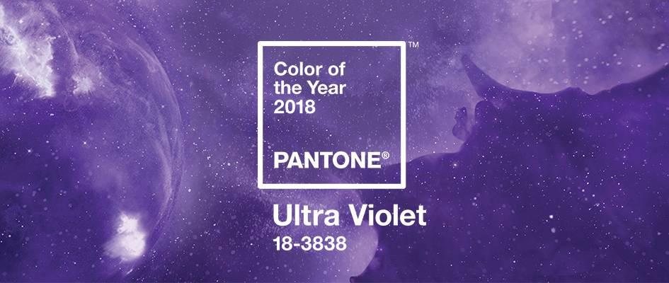 Pantone Farbton des Jahres 2018 Ultra Violet
