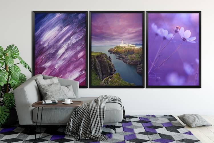Wohnaccessoires Bilder Teppich Pantone Farbton 2018 Ultra Violet