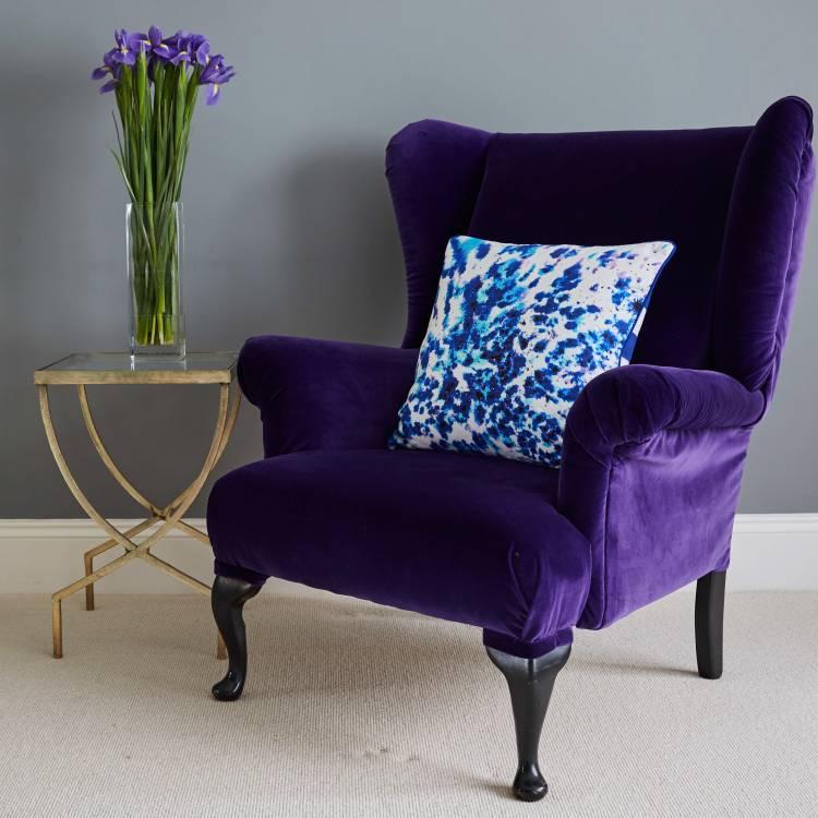 Sessel Möbel Pantone Farbton 2018 Ultra Violet