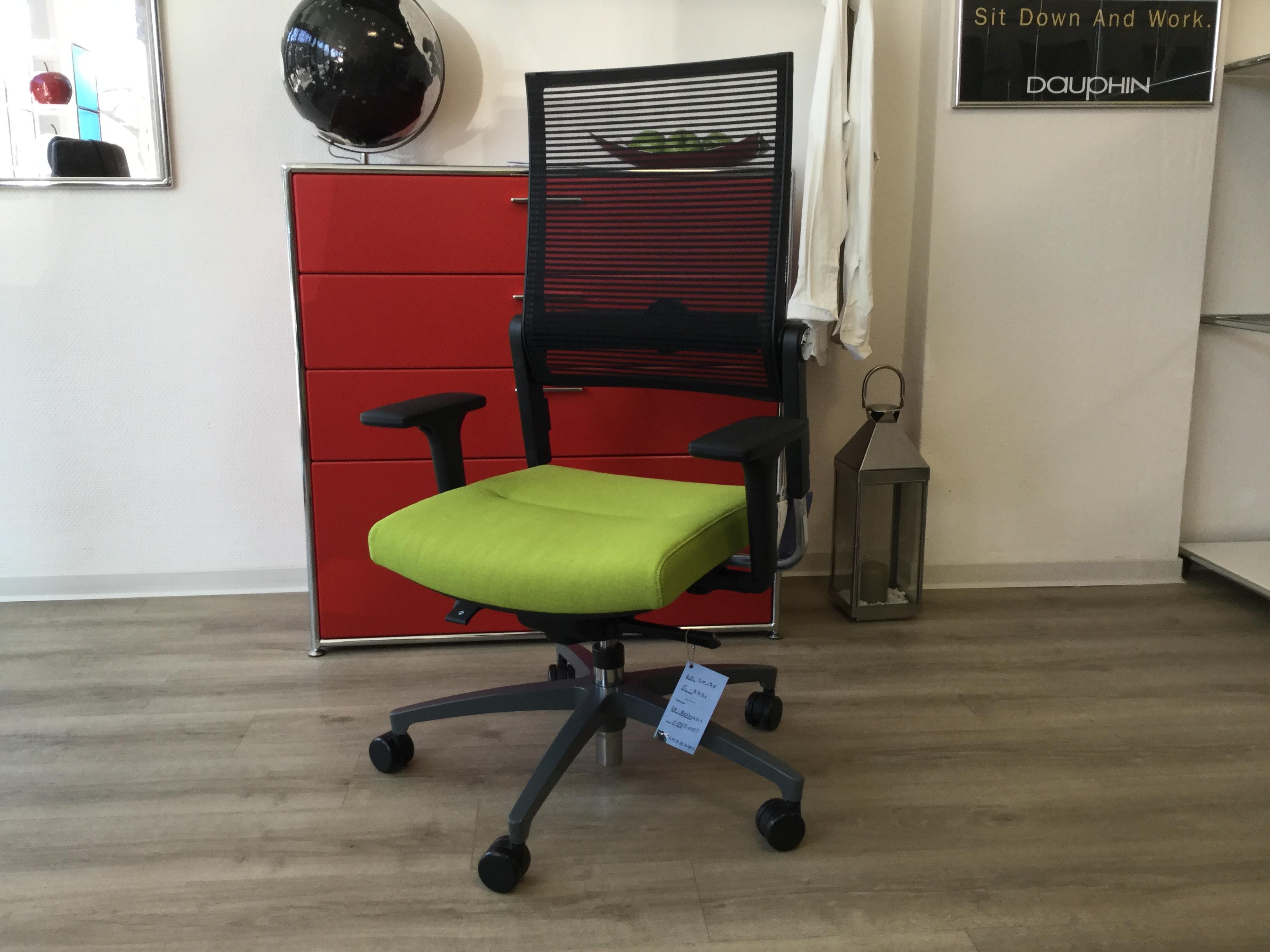 Bürodrehstuhl hellgrün