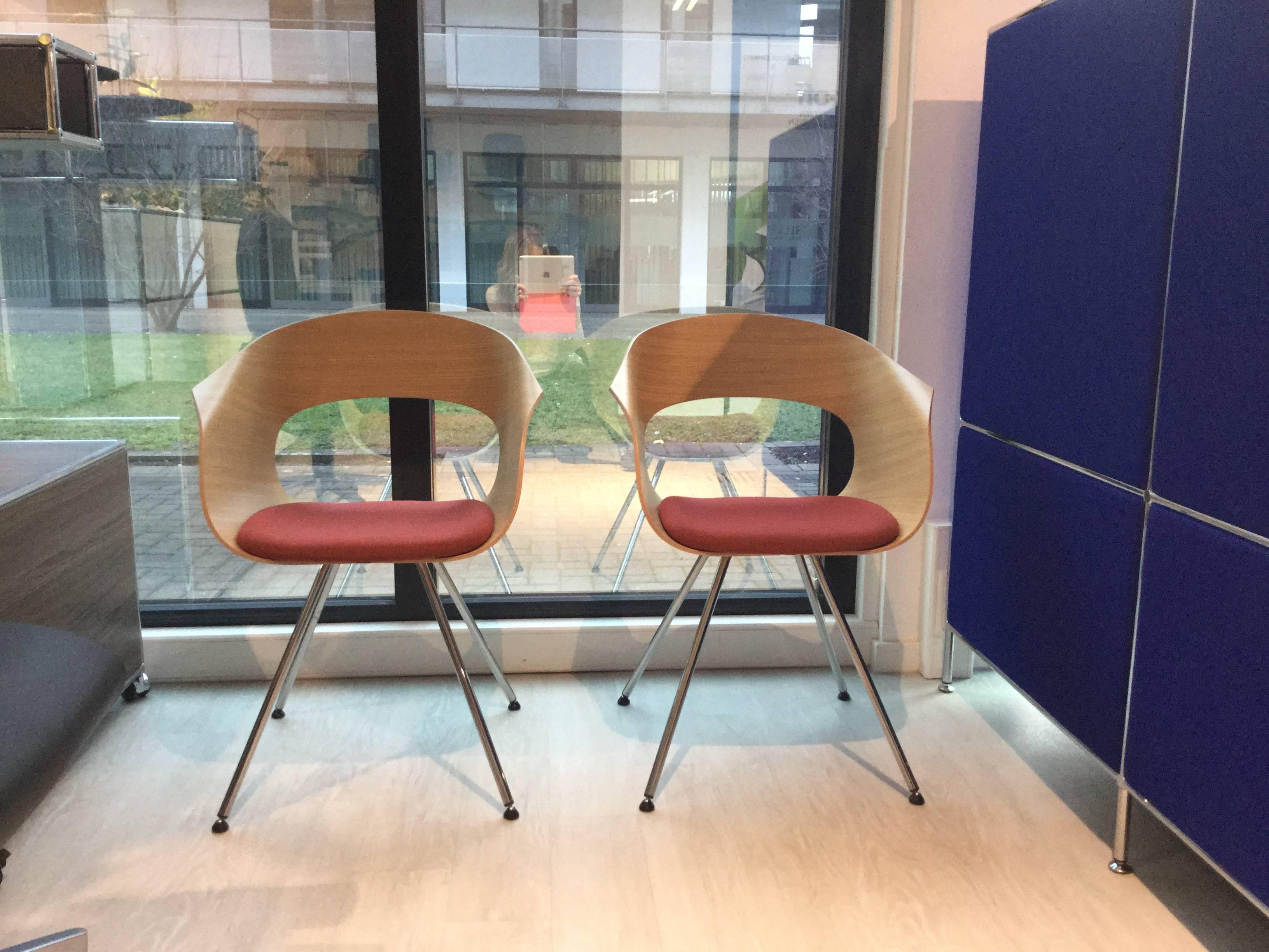2er Set Loungestuhl aus Holz