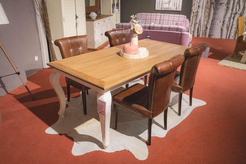 Esszimmerstühle im Landhausstil Kunstleder