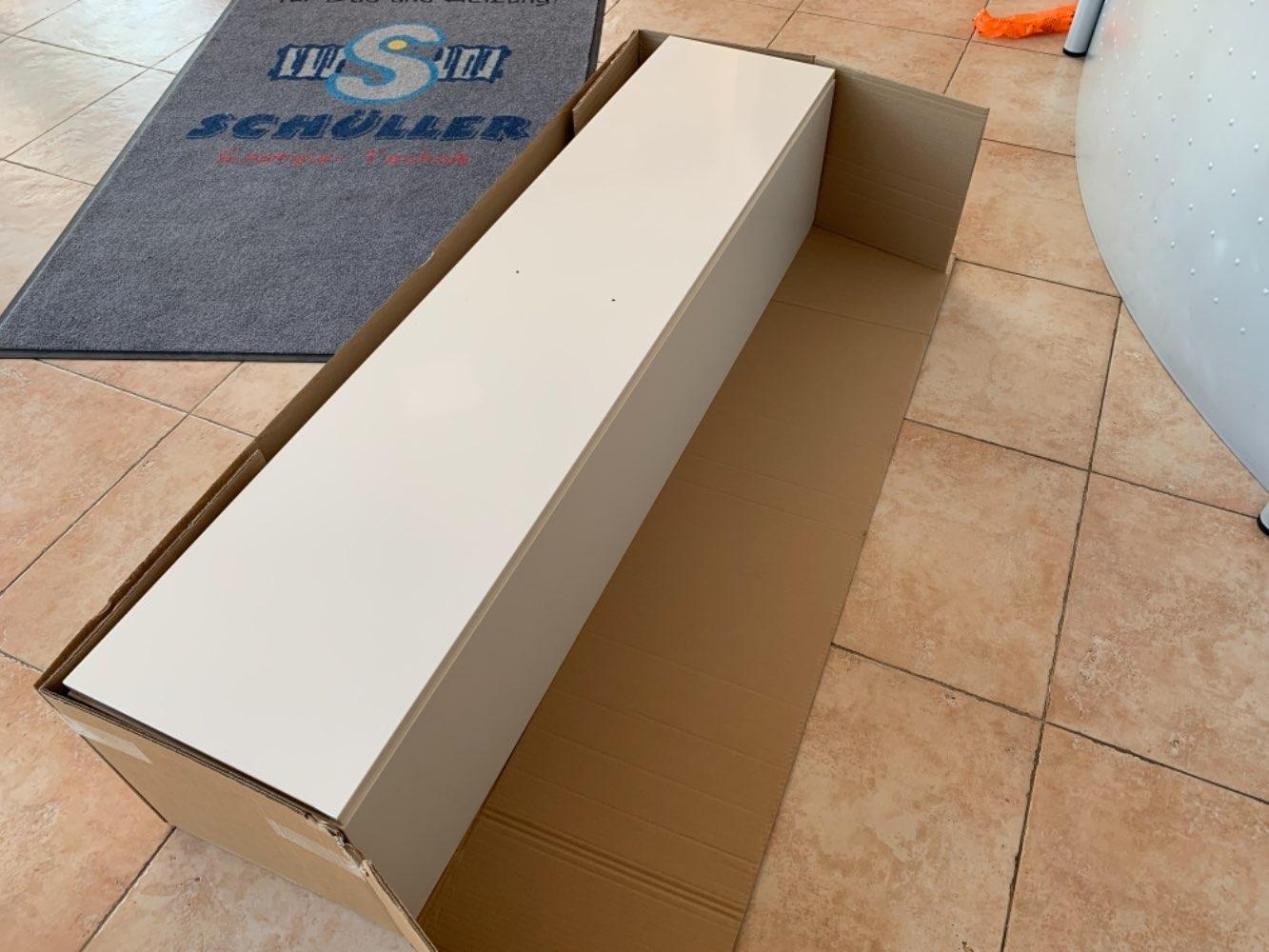 Sanibel Hochschrank A14, drehbar 350/1600/350mm (B/H/T), weiss glänzend Nr.8216855