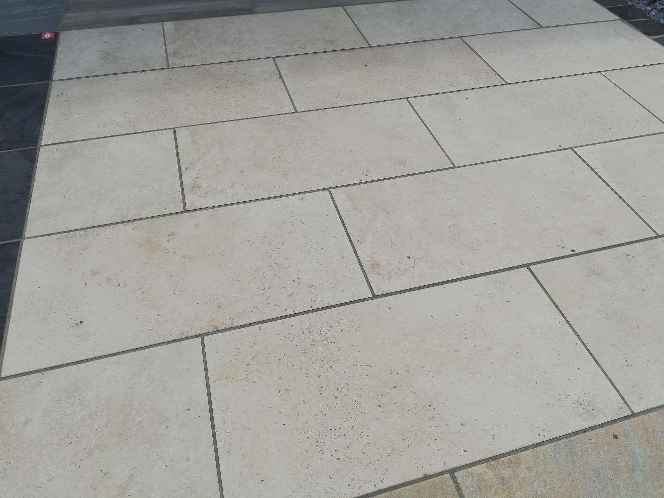 Keramik Terrassenplatte 40/80/2+2 mit Betonkern