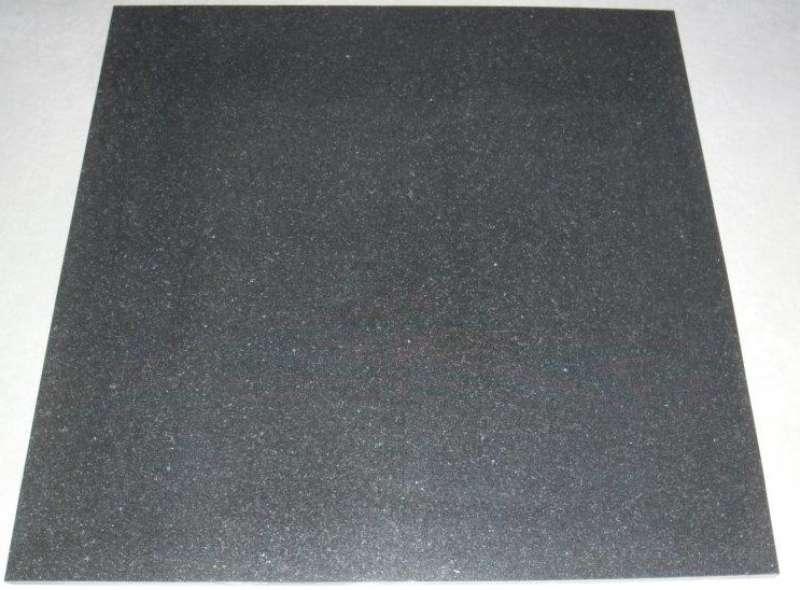 """""""Absolut Black"""" Natursteinplatten (60x60x1,5cm)"""