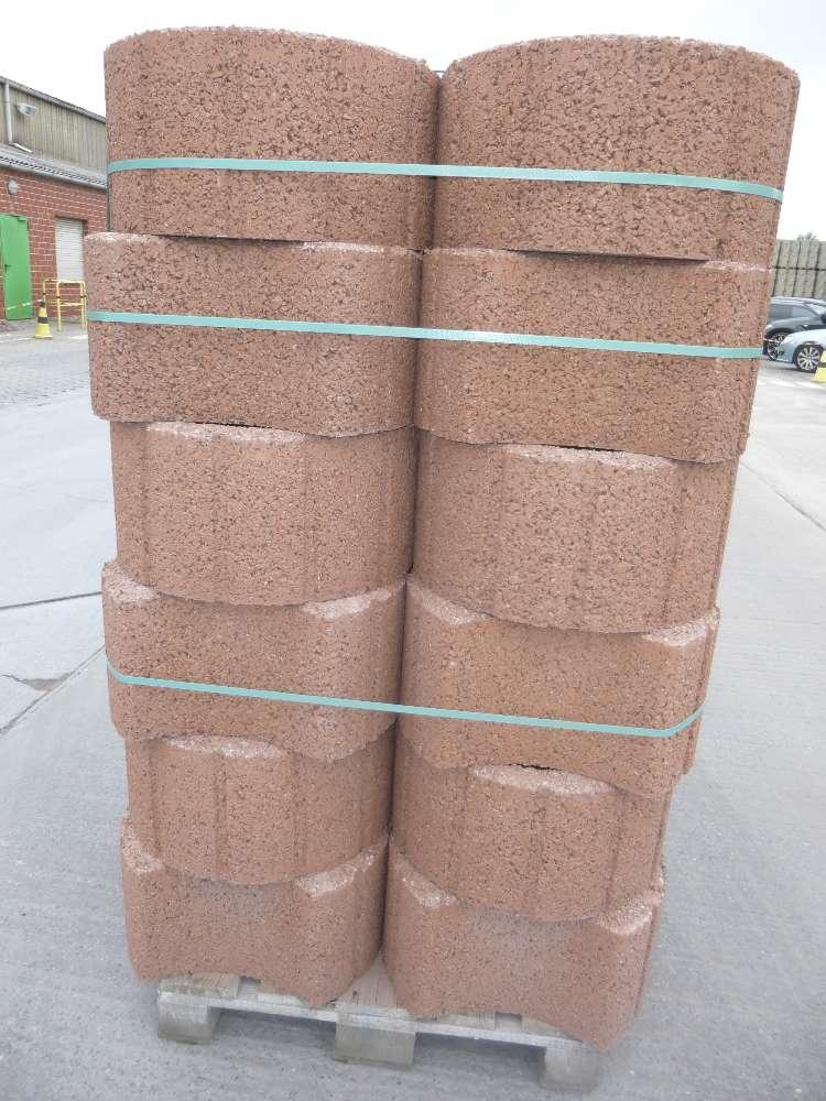 EHL Pflanzring mittelbraun 50 x 40 x 25 cm 2. Wahl