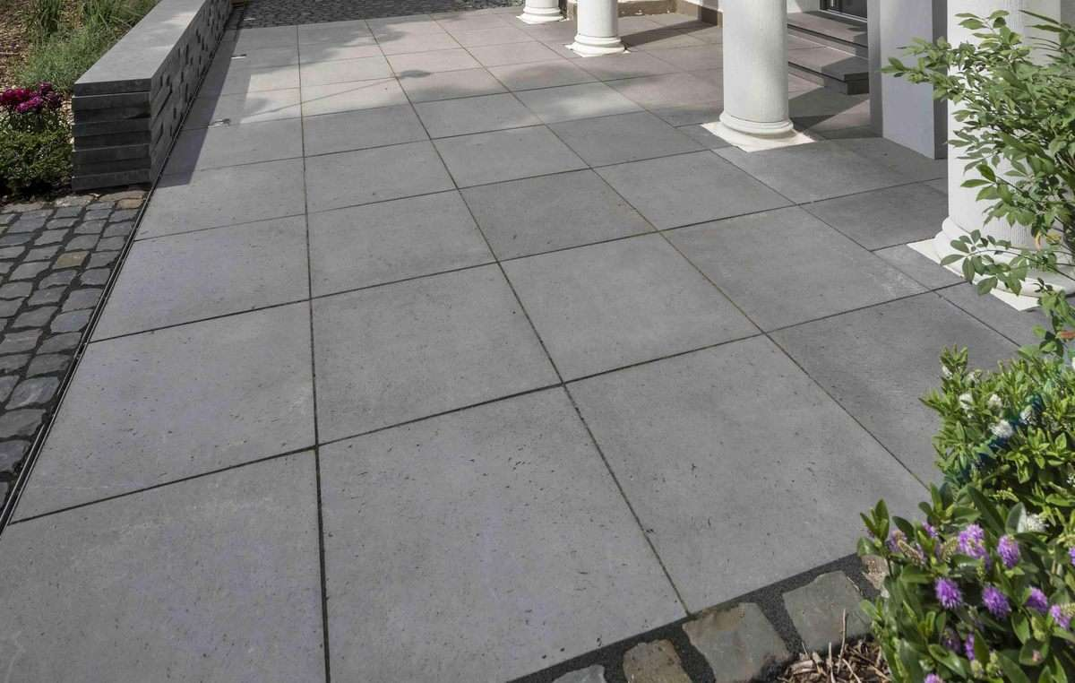 Basalo Platten 60x60x4 cm Basaltgrau 2.Wahl