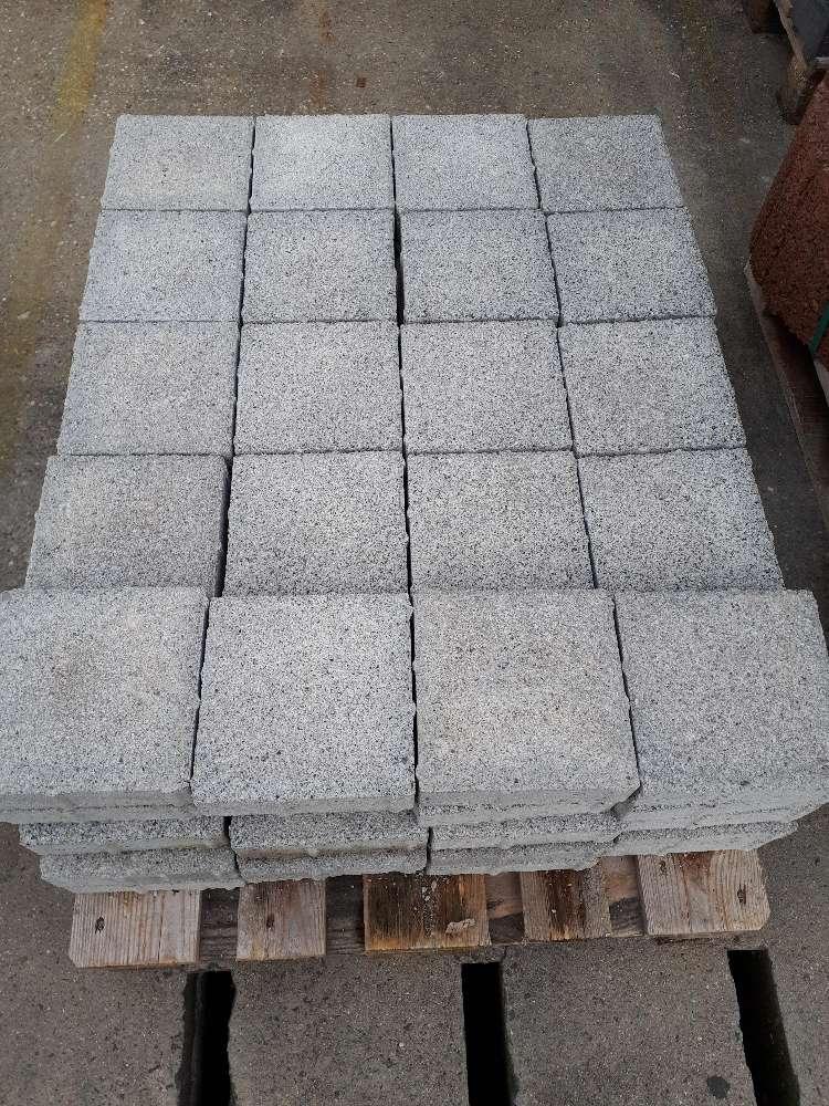 EHL Pflastersteine grau 20 x 20 x 6 cm 2. Wahl