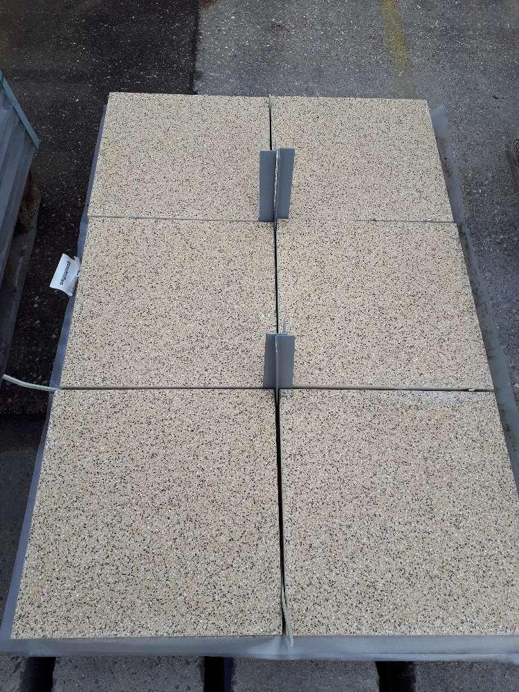 EHL Terrassenplatte gelb 40 x 40 x 4 cm 2. Wahl