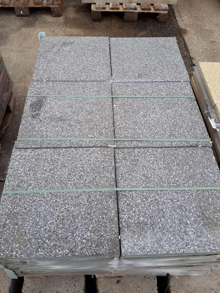 EHL Terrassenplatte grau 40 x 40 x 4cm 2. Wahl