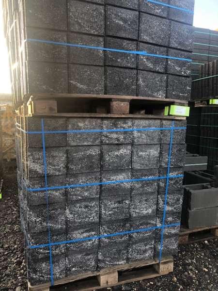 JASTO Terrasto Mini Mauersteine anthrazit-weiß 25x25x20 anthrazit-weiß (2.Wahl)
