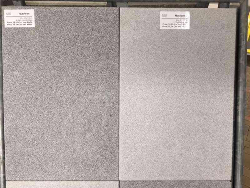 Montana Terrassenplatten 60x40x3,6 cm Silver White (2.Wahl)