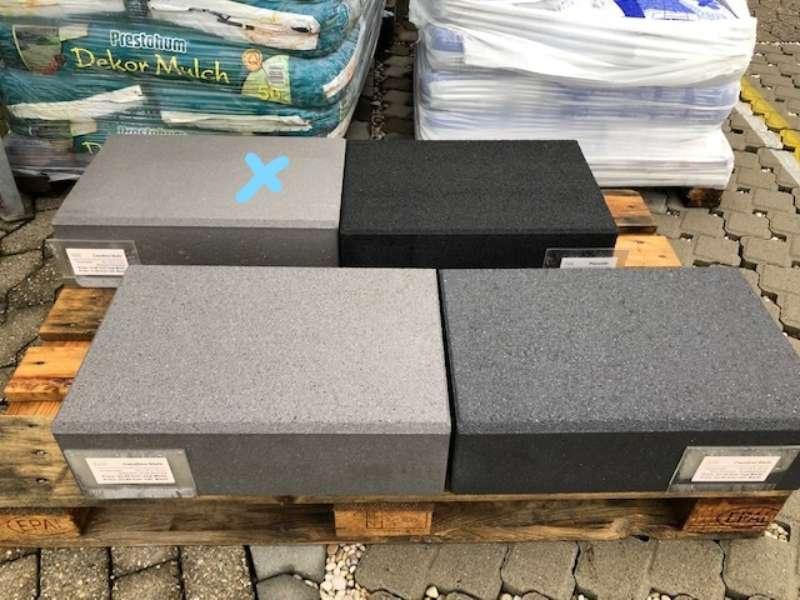 Casafino Stufen 50x34x15 cm Silbergrau (Restposten)