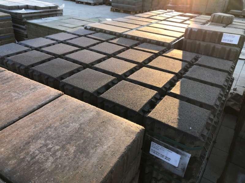 MultiTec ÖKO Pflaster 20x20x8 cm anthrazit (2.Wahl)