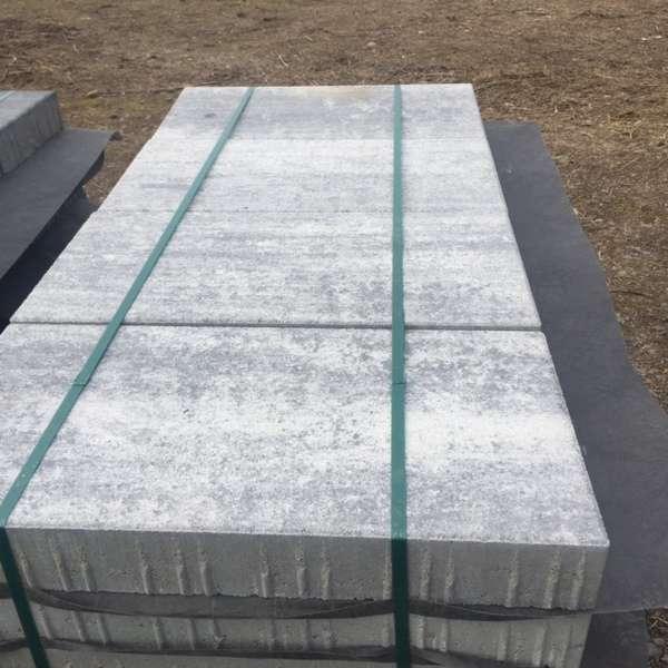 Stratos Pflaster 60x30x8 cm Titangrau (2.Wahl)