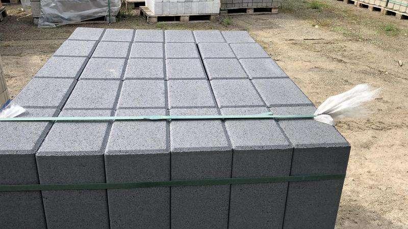 Stratos Palisaden 18,75x12x40 cm titangrau (2.Wahl)