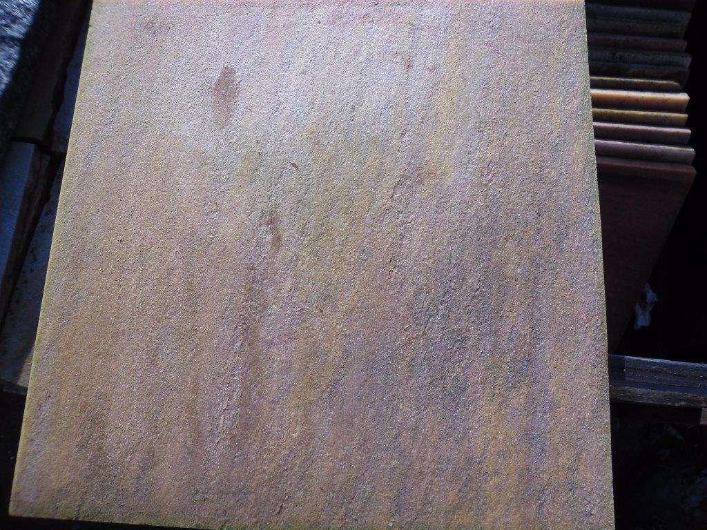 """Albino Rosa"" Natursteinplatten (50x50x2,5-4cm)"