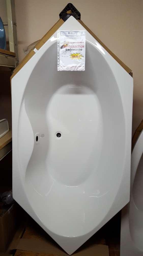 LUXUS – ACRYL – Badewanne  6-Eck / 200 x 100 cm, weiß