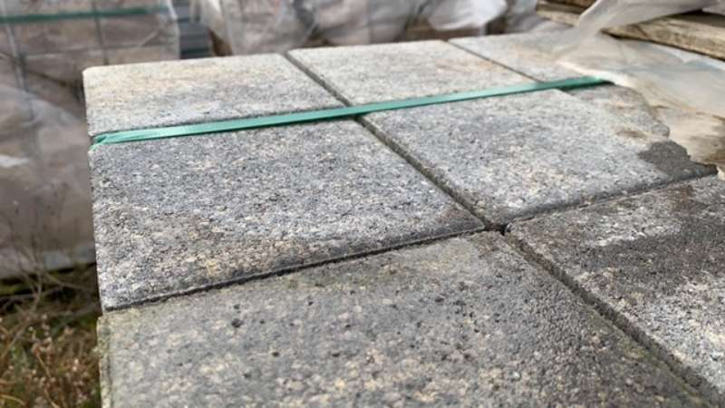 Vianova Pflaster 14 cm stark Trosidorf Hell betonglatt (Restposten)