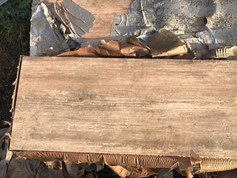 Xantos Keramik Platten Beige-Braun meliert 120x30x2 cm (2.Wahl)