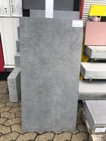 Xeton Keramik Platten Sichbetongrau 120x60x2 cm (2.Wahl)