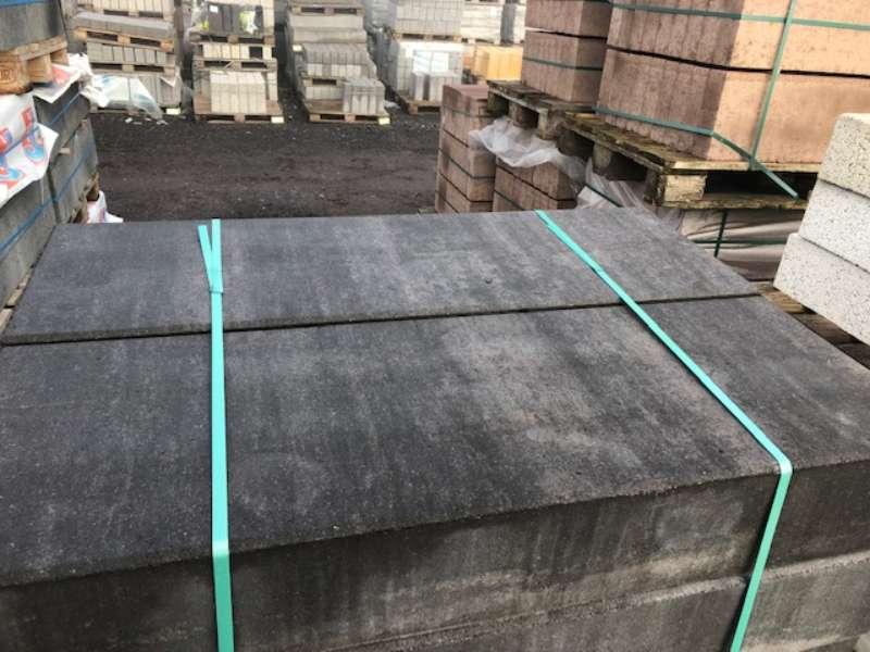 Stratos Blockstufen Moonlightschwarz 100x35x15 cm (2.Wahl)