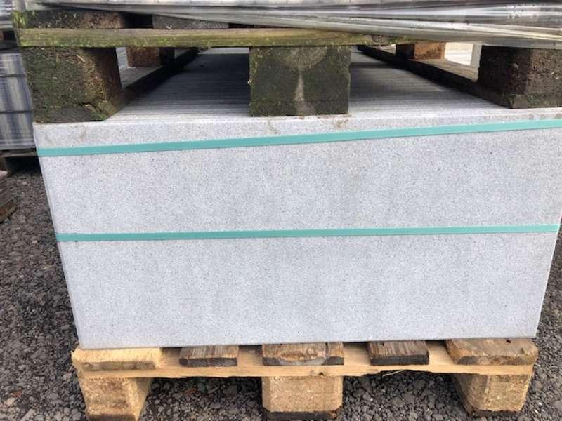 Vario Platten 80x40x4 cm grau gestrahlt (2.Wahl)