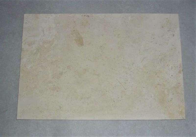 """""""Travertin Vanilla"""" Natursteinplatten (60/56/80x40x2cm)"""