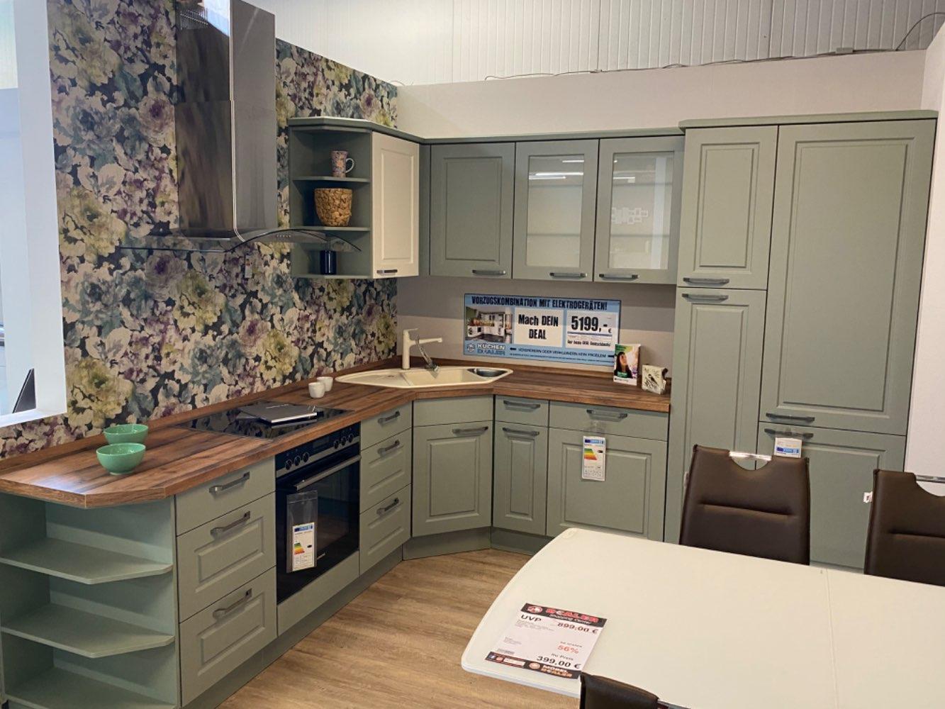 Einbauküche Andalusit / Küche mit E-Geräten Top Deal Koje 22
