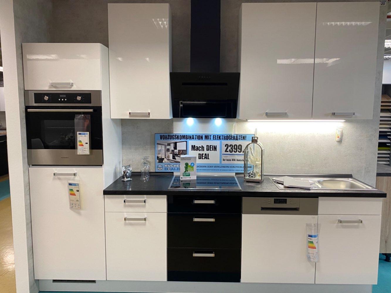Einbauküche Saphir / Küche mit E-Geräten Top Deal Koje 20