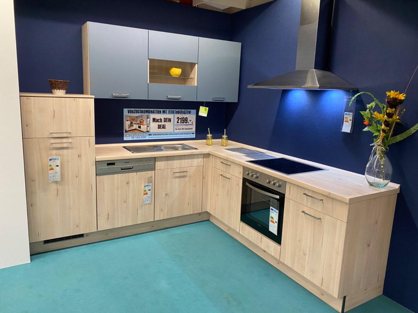 Einbauküche Opal / Küche mit E-Geräten Top Deal Koje 16