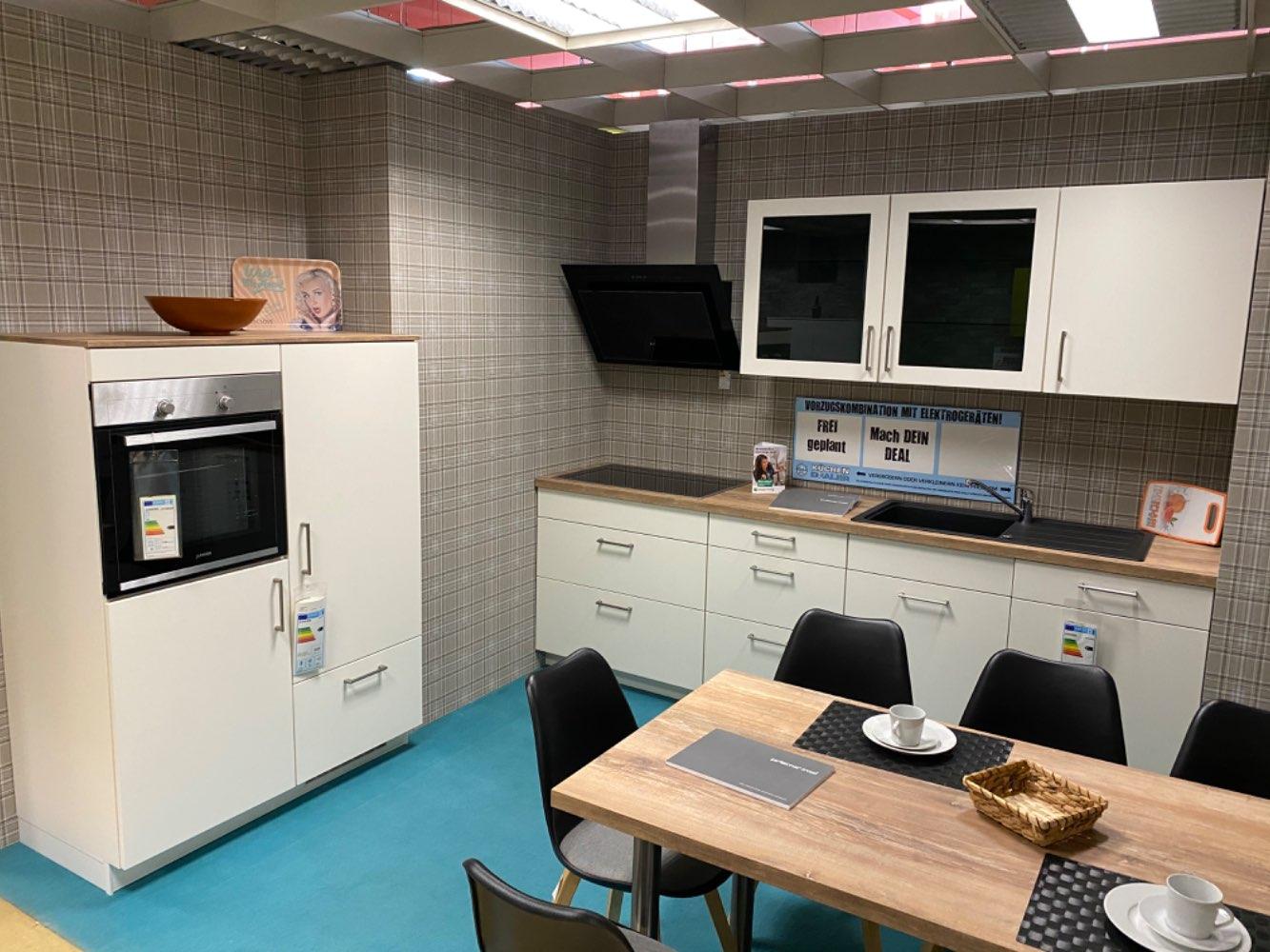 Einbauküche Diamant / Küche mit E-Geräten Top Deal Koje 15