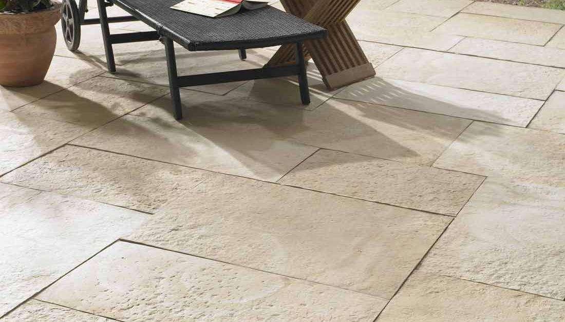 Yorktown Terrassenplatten 60x40x5 cm Sandstein (2.Wahl)