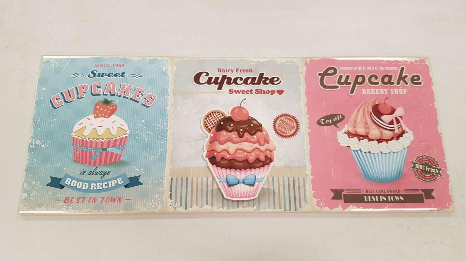 """Wandfliese Cookie Dekor """"Cupcakes"""""""