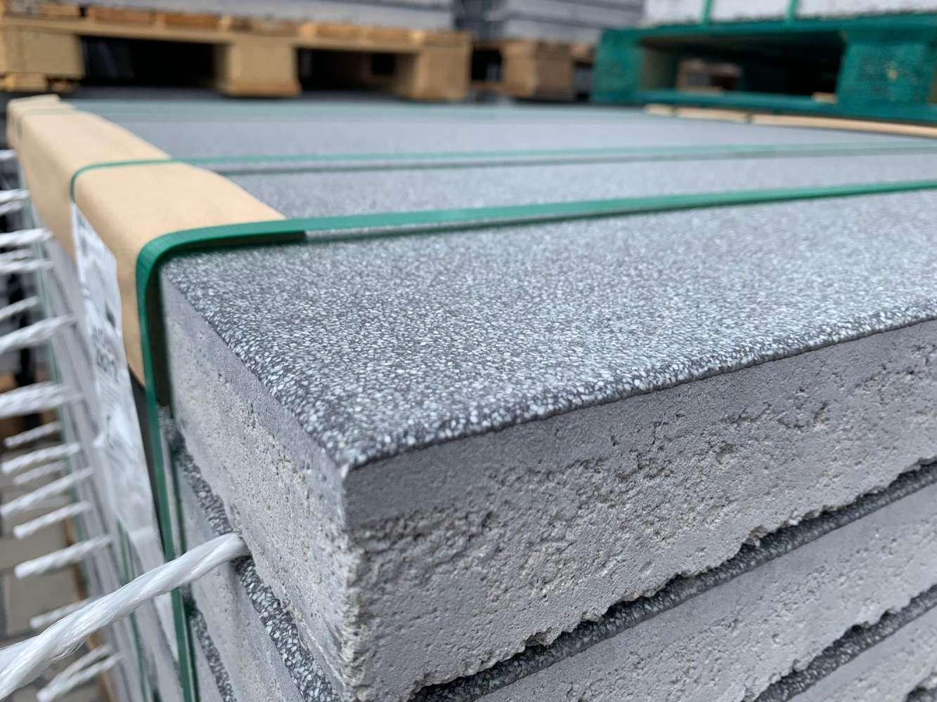 Madison Terrassenplatten 100x100x5,5 cm Midnightblack (2.Wahl)