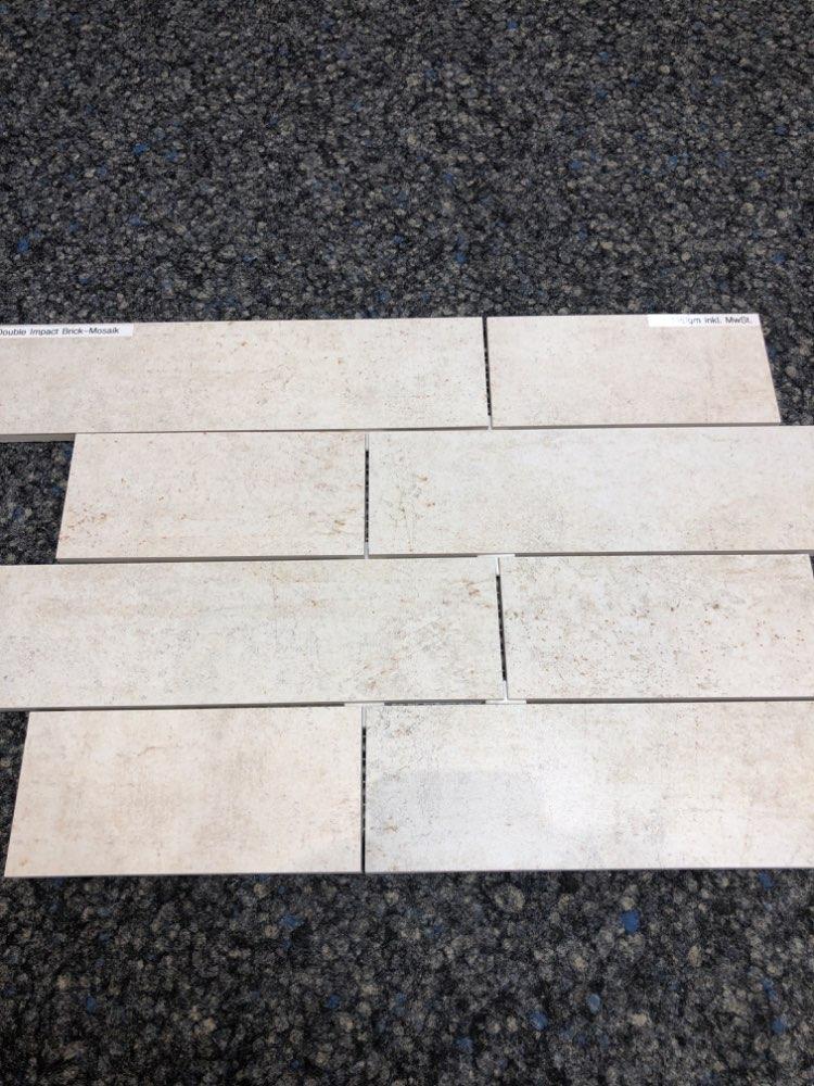 Mosaikfliese Engers Double Impact Brick Mosaik