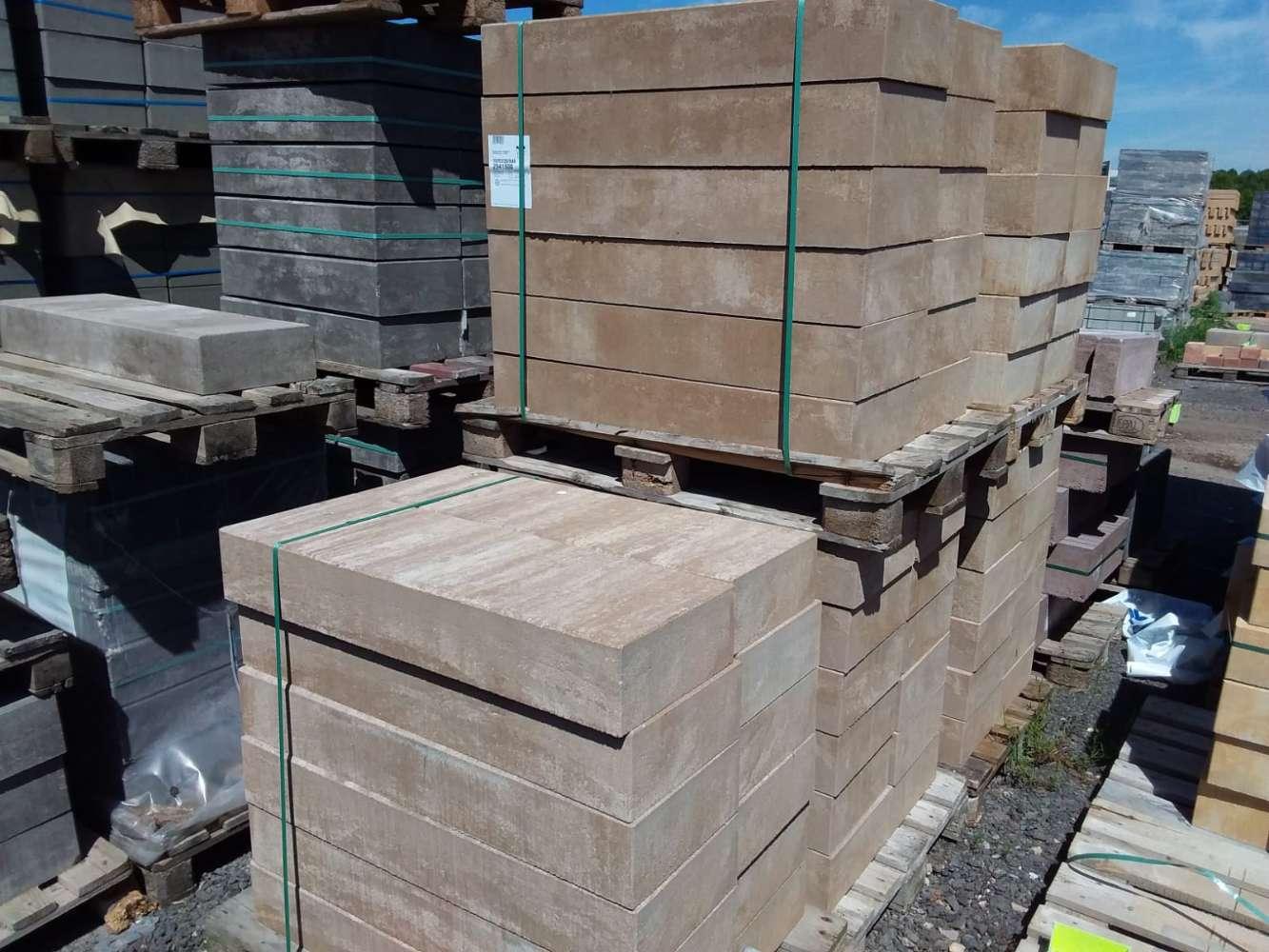 Stratos Blockstufen Canyonbraun 100x35x15 cm (2.Wahl)