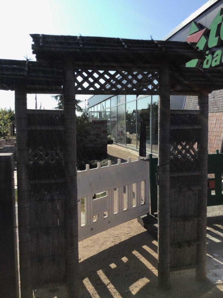 Narihira Tor aus Bambus