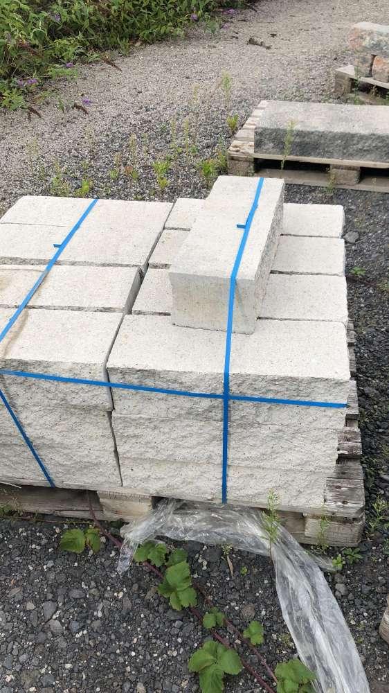 JASTO Klassikmauer 50x18x14 cm Endelement Weiß (2.Wahl)