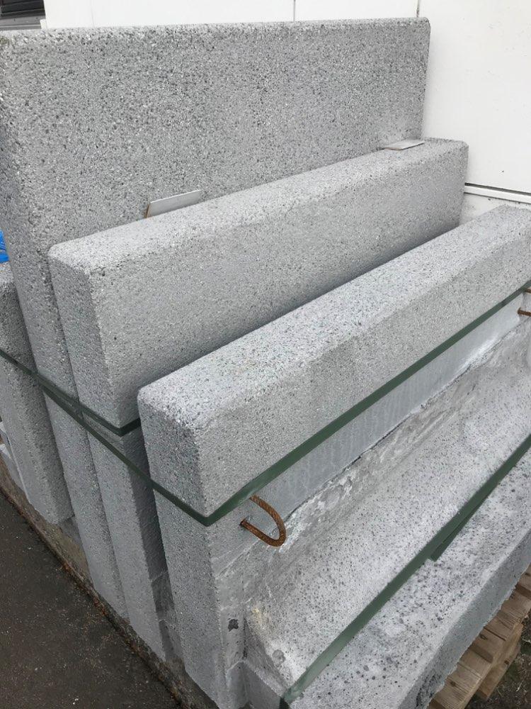 4 L-Steine gestrahlt