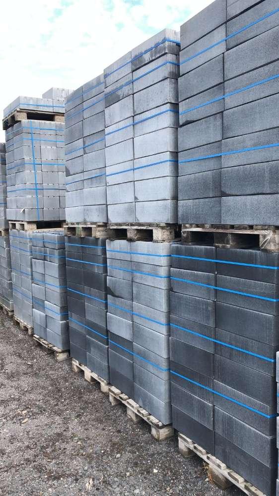 JASTO Taglio Mauerstein 45×22,5×16,5 cm Basalt (2.Wahl)